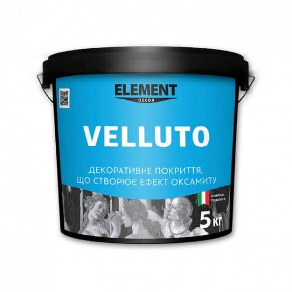 Декоративное покрытие Element VELUTTO 5 кг
