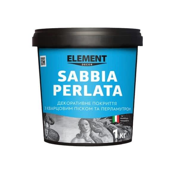 Декоративне покриття з кварцевим піском та перламутром Element Sabbia Perlata 1 кг