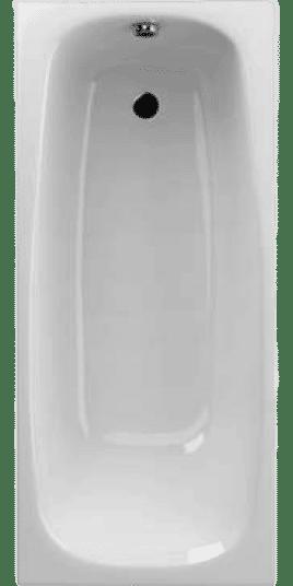 WA1-06-170x075U Ванна акрилова TESALIA 170х75 з ніжками+сифон R135