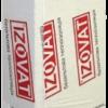 Ізоляція базальтова IZOVAT 135 фасад (1000*600*100мм) ( 2 шт/1,2 м кв/0,12 м куб в упак.) ( вироби з мінеральної вати ) пал 48 упак