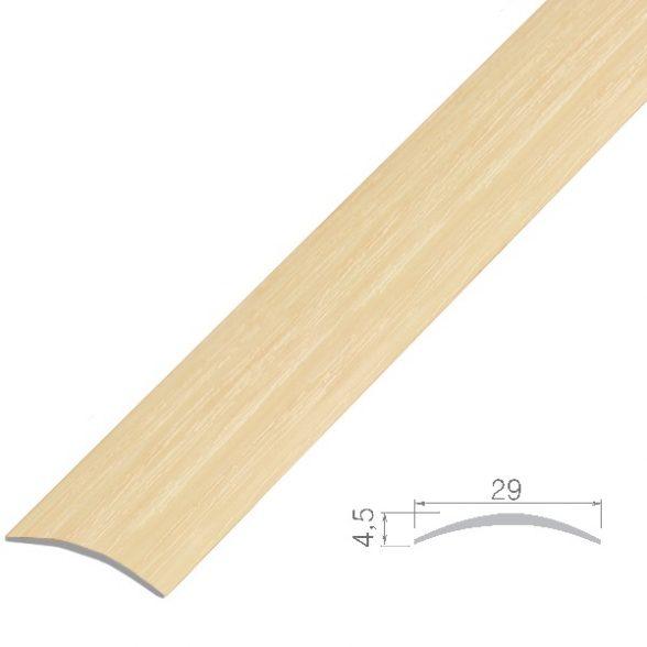 Шина алюмінієва дуб біленний 1,8м П9 30мм П9-280-19