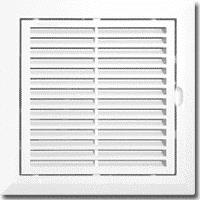 Вентиляційно-ревізійні дверцята 150*150мм (9101) (уп.-15шт.)
