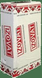 Вироби з мінеральної вати IZOVAT 135 фасад (1000*600*50мм) ( 4 шт/2,4 м кв/0,12 м куб в упак.) пал 48 упак