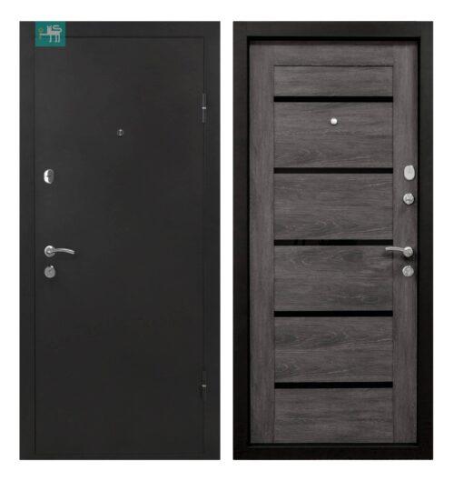 Вхідні двері ПУ-161 Царга шале 960*2050 права (СКЛАД)