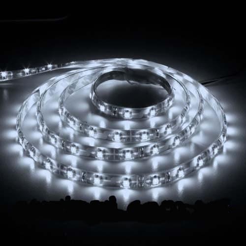 Світлодіодна стрічка LS604/SANAN LED 60 SMD 4.8 W 12 V (5 метр ) білий ІР