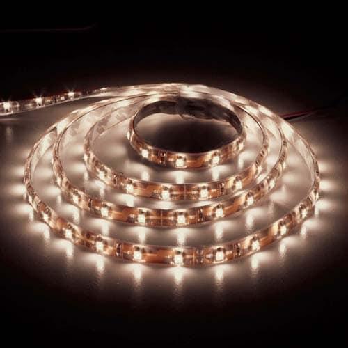 Світлодіодна стрічка LS604/SANAN LED 60 SMD 4.8 W 12 V (5 метр ) теплий білий