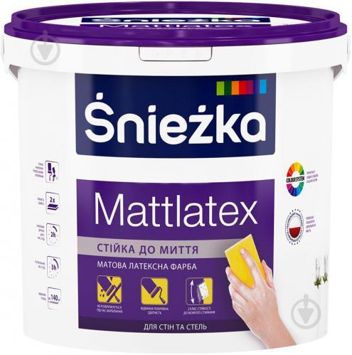 Водоемульсійна фарба СНЄЖКА MATTLATEX 4,2 кг