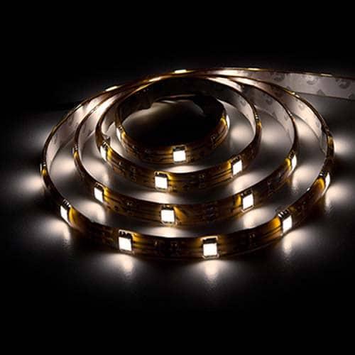 Світлодіодна стрічка LS606/SANAN LED 30 SMD 7,2 W 12 V (5 метр ) теплий білий
