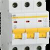 Автоматичний вимикач ИЕК ВА 47-29 3Р25 А хар С