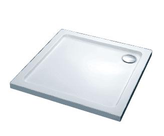 FTR2223 COMFORT Піддон душовий, квадрат., 100х100, з сифоном (280229)